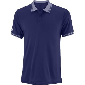 WILSON M TEAM POLO BLUE DEP