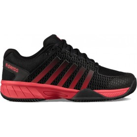 K-Swiss Express Light Hb Negro Rojo