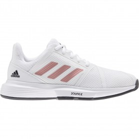 Adidas courtjam bounce w white