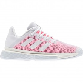 Adidas solematch bounce w white pink