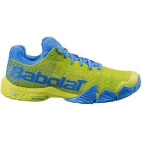 Babolat Jet Premura Men Yellow Blue Shoes