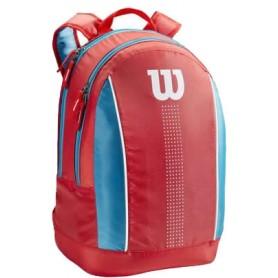 Wilson Juni Orange Backpack COrangeal/Blue/White
