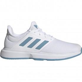 Adidas Gamecourt M Ftwr White Hazy Blue Halo Blue