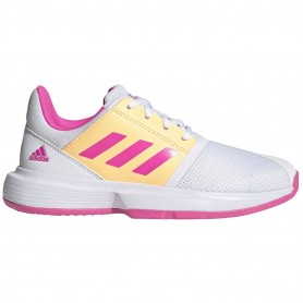Adidas Courtjam Xj Ftwr White Screaming Pink Acid