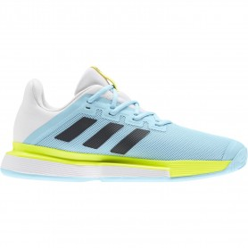 Adidas Solematch Bounce M Hazy Sky Core Black Solar Yell