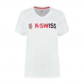 K-SWISS CAMISETA HERITAGE SPORT LOGO