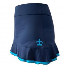 Black Crown Skirt Calella Mujer Azul Turquesa