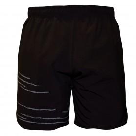 Black Crown Short Texas Hombre Negro-Gris