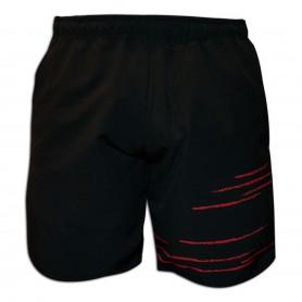 Black Crown Short Texas Hombre Negro-Rojo