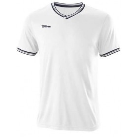 Wilson Camiseta Team Ii High V-Neck Blanco