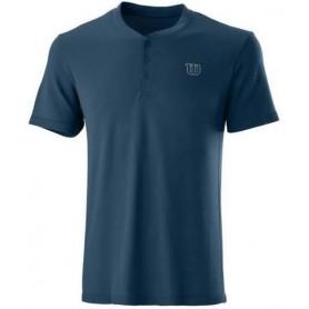 Wilson Camiseta Pwr Smls Henley Ii Azul