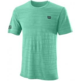 Wilson Camiseta Kaos Rapide Smls Crew Verde