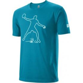 Wilson Camiseta Bela Tech Tee Azul