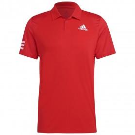 Adidas Polo Club 3-Stripe Rojo