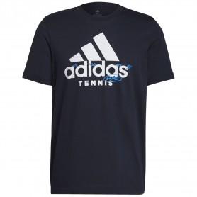 Adidas Camiseta Hombre Graphic Logo Multicolor