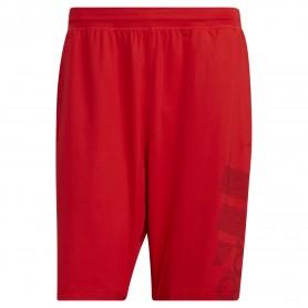 Adidas Pantalon Corto 4Krft Sport Graphic Badge Of Sport Rojo
