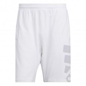 Adidas Pantalon Corto 4Krft Sport Graphic Badge Of Sport Blanco