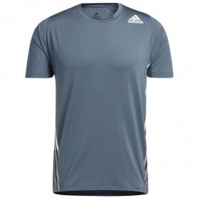 Adidas Camiseta Freelift 3 Bandas Azul