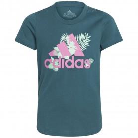 Adidas Camiseta Tropical Sports Graphic Verde