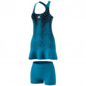 Vestido Adidas Primeblue Pr Mujer Azul