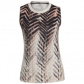 Camiseta Tirantes Adidas Primeblue Mujer Natural