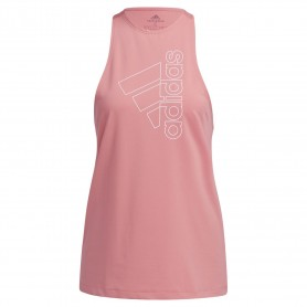Camiseta Sin Mangas Adidas Badge Of Sport Mujer Rosa
