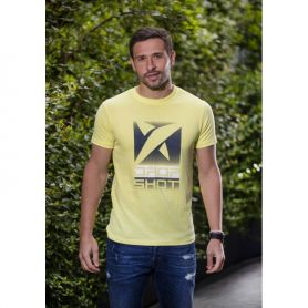 Camiseta Drop Shot Trainning Campa Hombre Amarillo