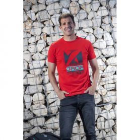 Camiseta Drop Shot Trainning Jmd Hombre Rojo
