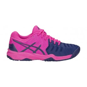 Asics Gel-Resolution 7 Gs Clay Pink-Blue