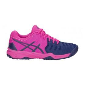 Asics Gel-Resolution 7 Gs Clay Pink-Blue