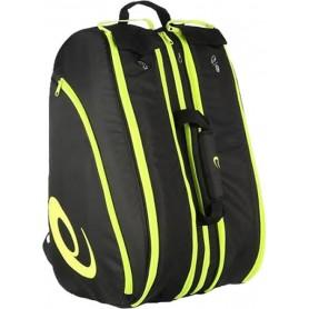 Asics Padel Bag Black Yellow