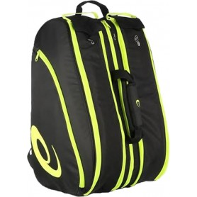 Asics Padel Bag Black Yellow