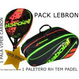PACK LEBRON BABOLAT  VIPER CARBON + BABOLAT RH TEAM